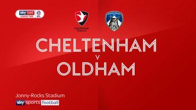 Cheltenham 3-0 Oldham