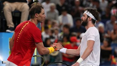 Nadal secures victory for Spain