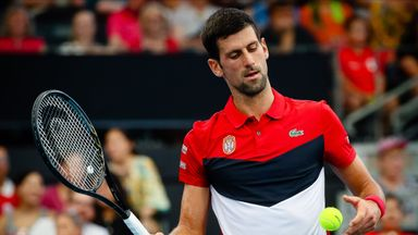 Djokovic helps Serbia beat Chile