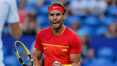 Nadal inspires Spain to victory