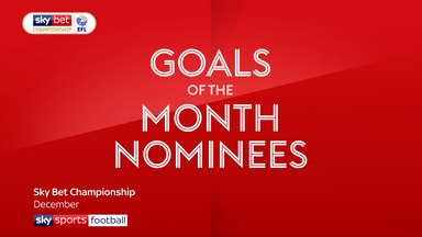 Championship Goals of the Month