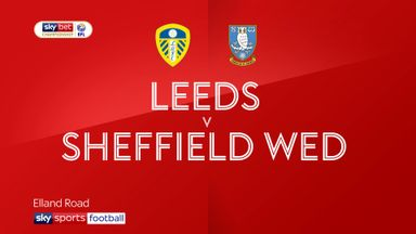 Leeds 0-2 Sheff Wed