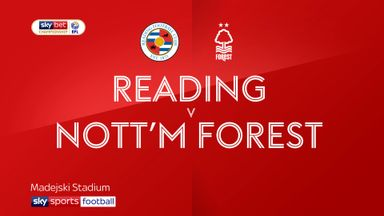 Reading 1-1 Nottingham Forest