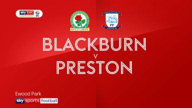 Blackburn 1-1 Preston