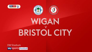 Wigan 0-2 Bristol City