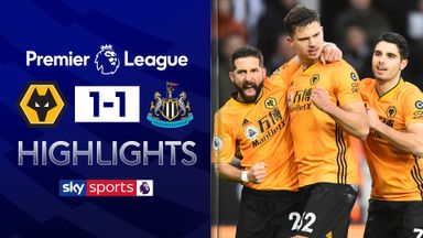 Newcastle hold Wolves to draw