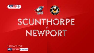 Scunthorpe 1-2 Newport
