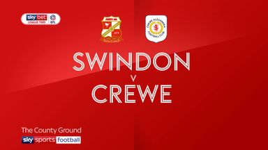Swindon 3-1 Crewe