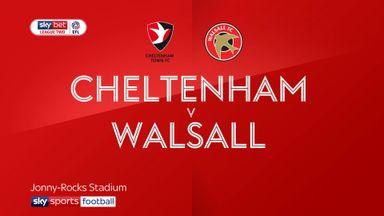 Cheltenham 3-1 Walsall