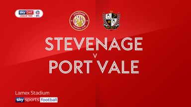 Stevenage 0-1 Port Vale