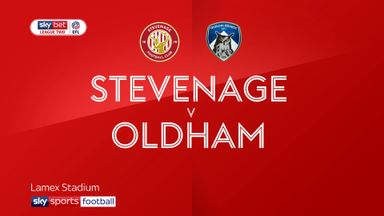 Stevenage 0-0 Oldham