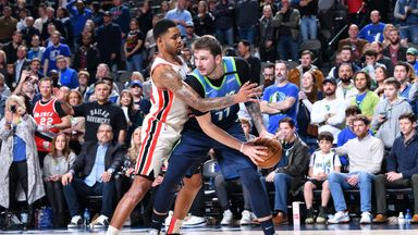NBA Wk13: Trail Blazers 112-120 Mavericks