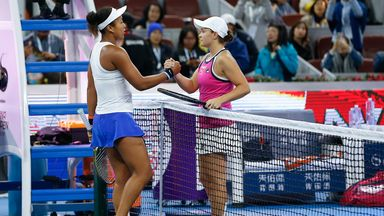 Osaka plays down rivalry with Barty