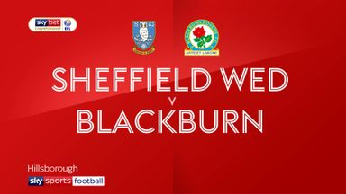 Sheffield Wed 0-5 Blackburn
