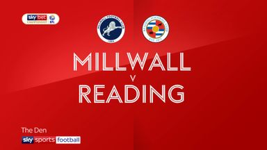 Millwall 2-0 Reading