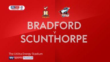 Bradford 2-2 Scunthorpe