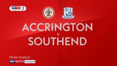 Accrington 1-2 Southend