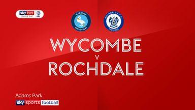Wycombe 2-1 Rochdale