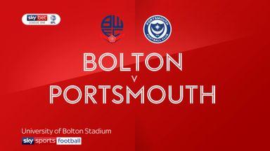 Bolton 0-1 Portsmouth