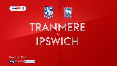 Tranmere 1-2 Ipswich