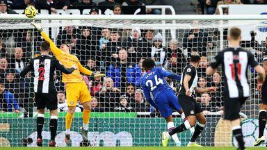 HT: Newcastle 0-0 Chelsea