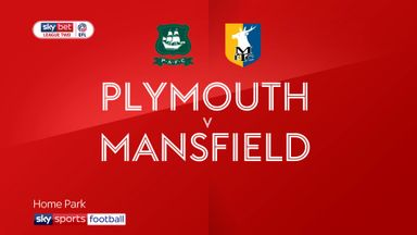 Plymouth 3-1 Mansfield