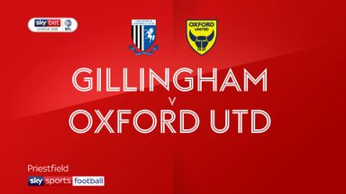 Gillingham 1-1 Oxford