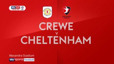 Crewe 1-0 Cheltenham