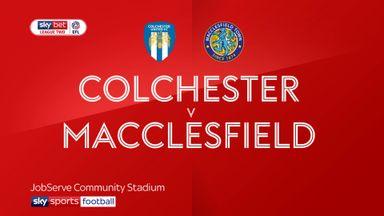 Colchester 2-1 Macclesfield