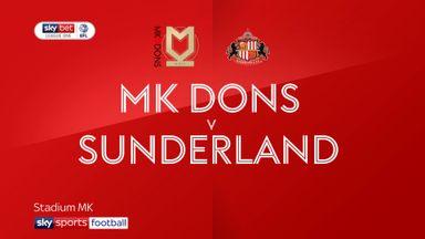MK Dons 0-1 Sunderland