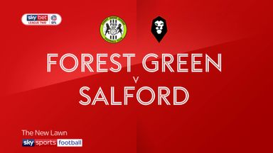 Forest Green 1-2 Salford