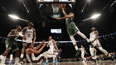 NBA Wk13: Bucks 117-97 Nets
