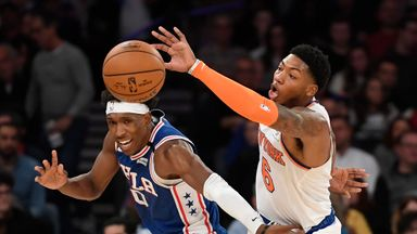 NBA Wk13: Sixers 90-87 Knicks
