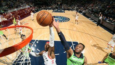 NBA Wk13: Raptors 122-112 Timberwolves
