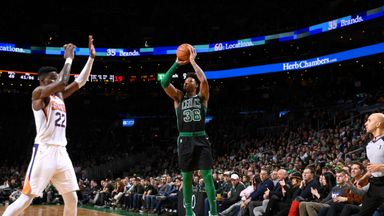 Smart hits record 11 threes in Celtics loss