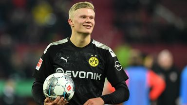 Haaland scores hat-trick on Dortmund debut