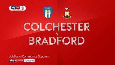 Colchester 0-0 Bradford