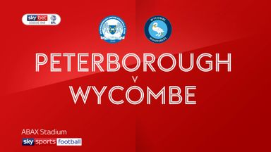 Peterborough 4-0 Wycombe