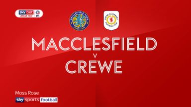 Macclesfield 1-1 Crewe