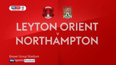 Leyton Orient 1-1 Northampton