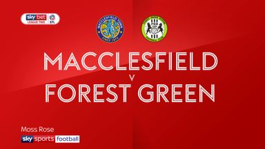 Macclesfield 2-1 Forest Green