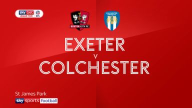 Exeter 0-0 Colchester