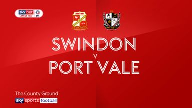 Swindon 3-0 Port Vale