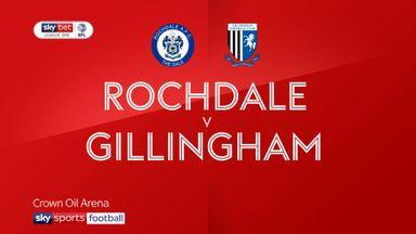 Rochdale 2-2 Gillingham