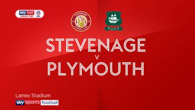 Stevenage 1-2 Plymouth