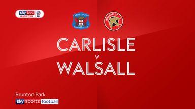 Carlisle 2-1 Walsall