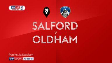 Salford 1-1 Oldham