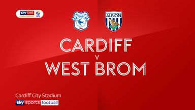 Cardiff 2-1 West Brom