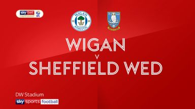 Wigan 2-1 Sheffield Wed