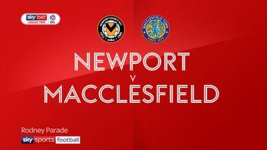Newport 1-0 Macclesfield